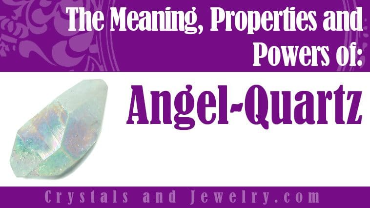 Angel Quartz Jewelry