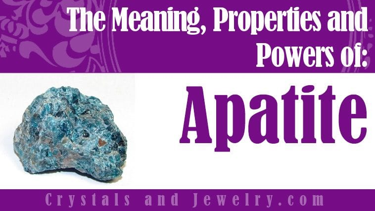 Apatite for protection