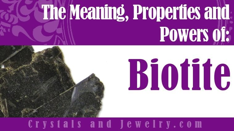The meaning of biotite