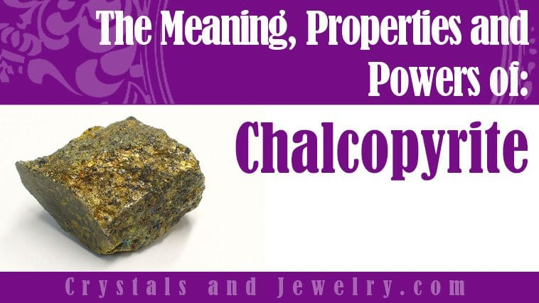 Chalcopyrite for luck and wealth