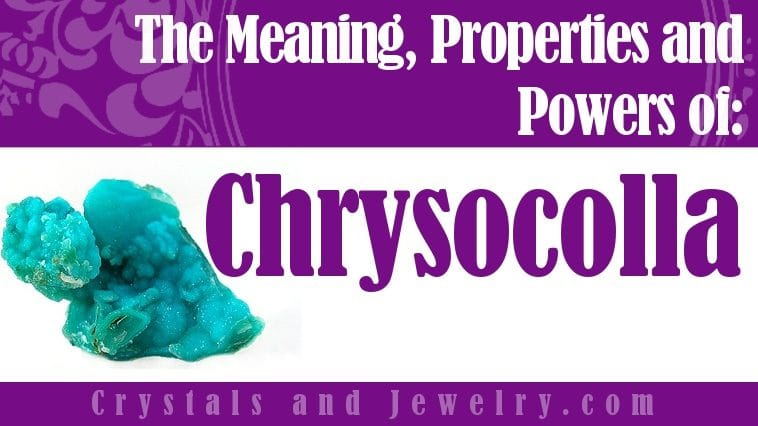 The meaning of Chrysocolla