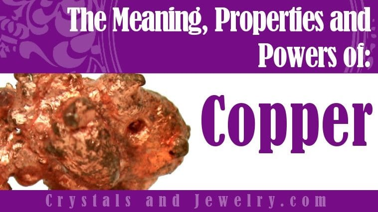 Copper for protection