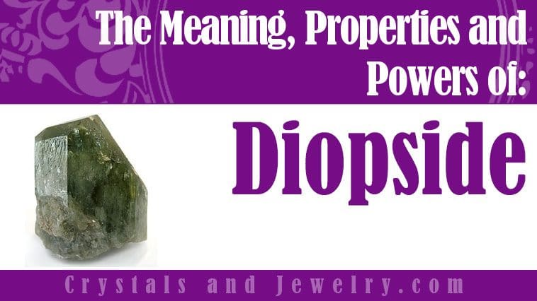 Diopside properties and powers