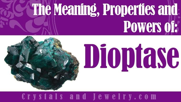 The meaning of Dioptase