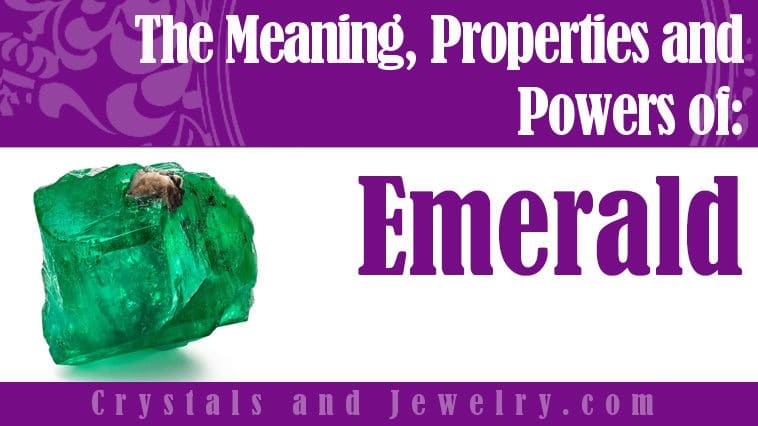 Emerald for protection