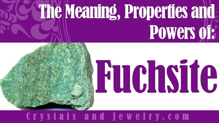 Fuchsite jewelry