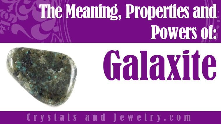 Galaxite for luck and wealth