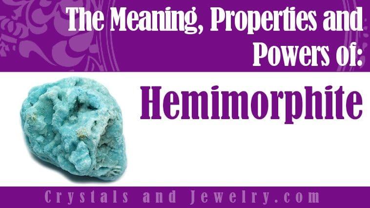 The meaning of Hemimorphite