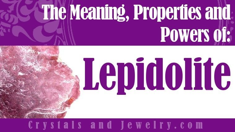 How to use Lepidolite?
