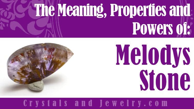 Melodys Stone for luck and wealth