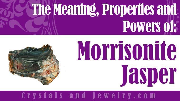Morrisonite Jasper for protection