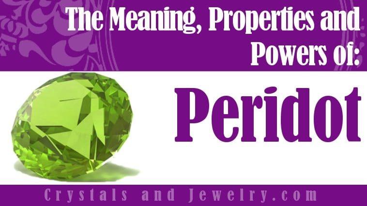 Peridot is powerful
