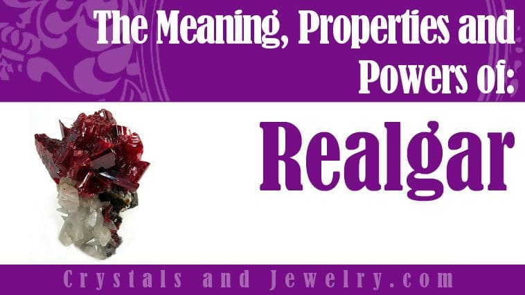 Realgar is powerful