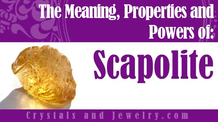 The meaning of Scapolite