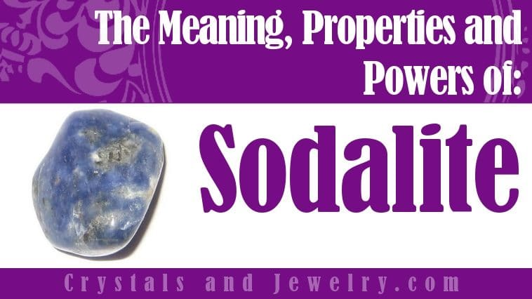 Sodalite for protection