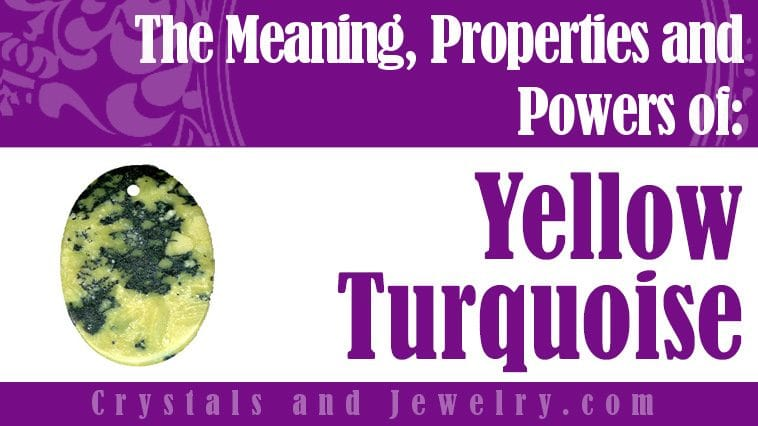 Yellow Turquoise for love