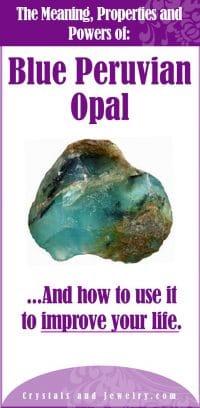 blue peruvian opal meaning