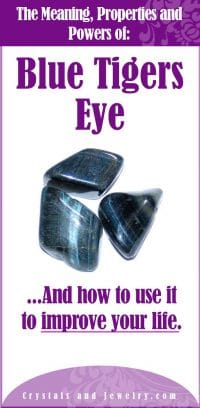 blue tigers eye meaning