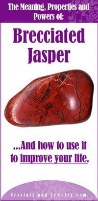 brecciated jasper meaning