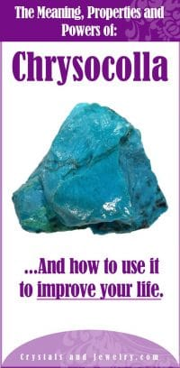 chrysocolla meaning