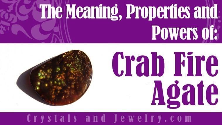 Crab Fire Agate