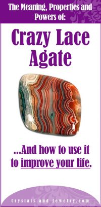 crazy lace agate meaning