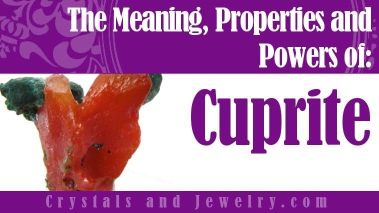 Cuprite is powerful