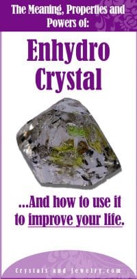 enhydro crystal meaning