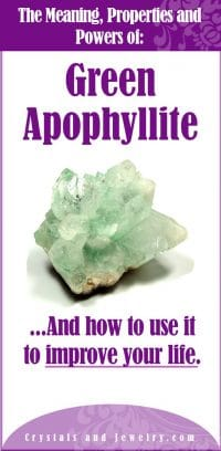 green apophyllite meaning