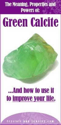 green calcite meaning