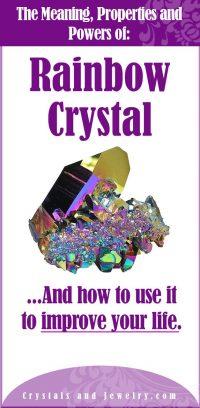 rainbow crystal meaning