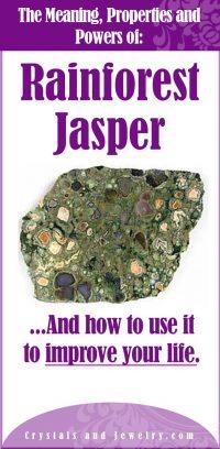 rainforest jasper meaning