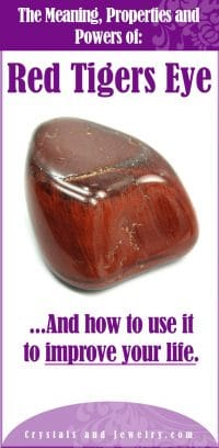 red tigers eye meaning