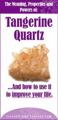 tangerine quartz meaning