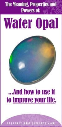 water opal meaning