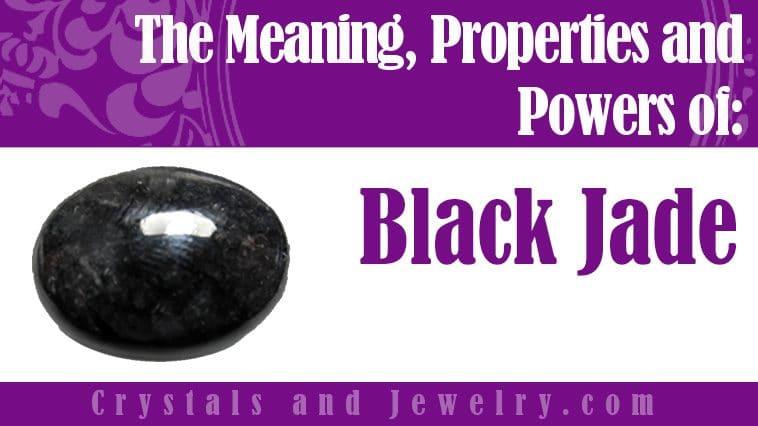 Black Jade meaning