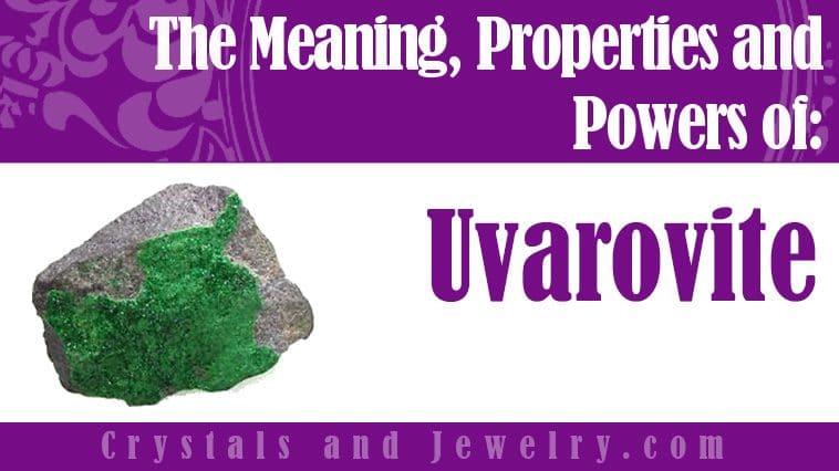uvarovite meaning