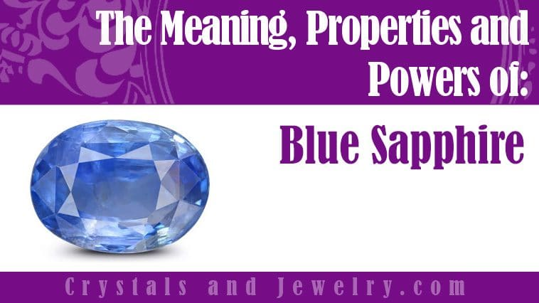 blue sapphire meaning