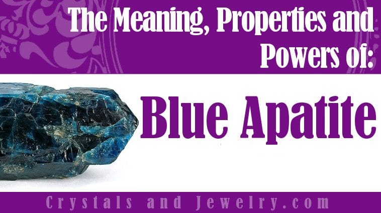 How to use Blue Apatite?