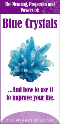 blue crystals meaning