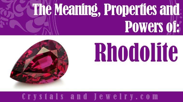 rhodolite meaning