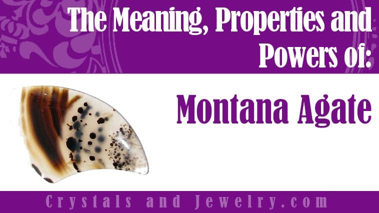 montana agate meaning