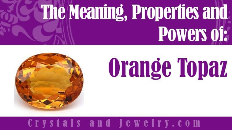 orange topaz meaning