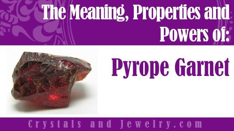 pyrope garnet meaning