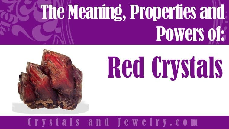 red crystals meaning