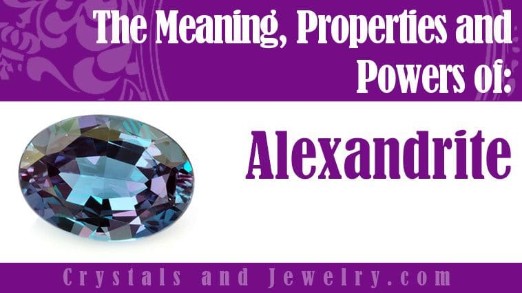 alexandrite meaning