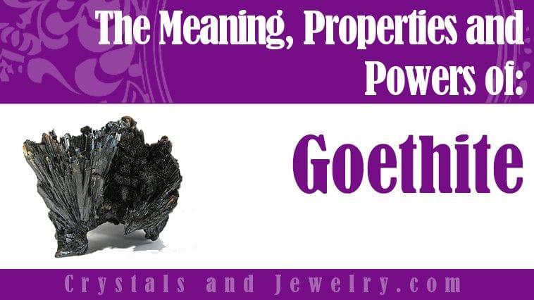 goethite meaning
