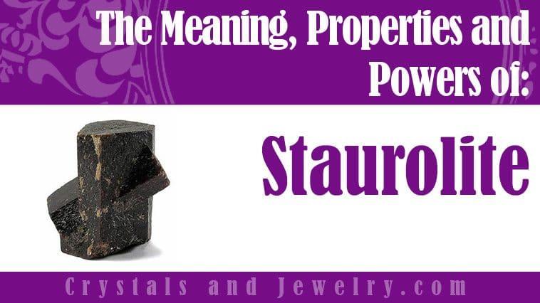 staurolite meaning