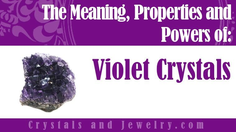 violet crystals meaning