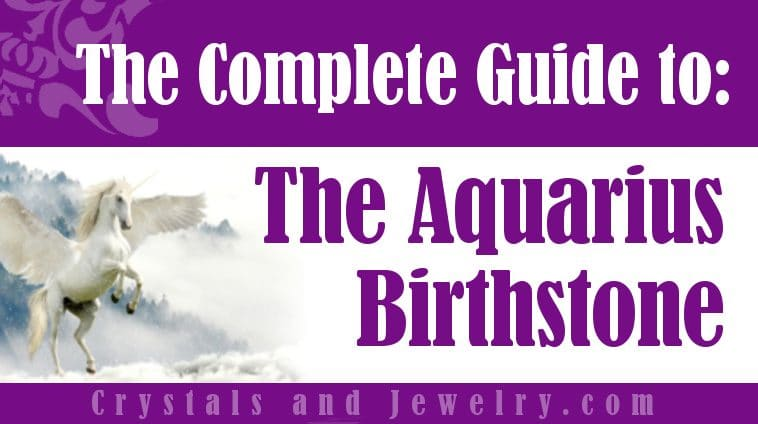 Aquarius Birthstone for protection